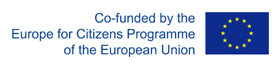 Co-founded by the Europe for Citizens Programme of the European Union
