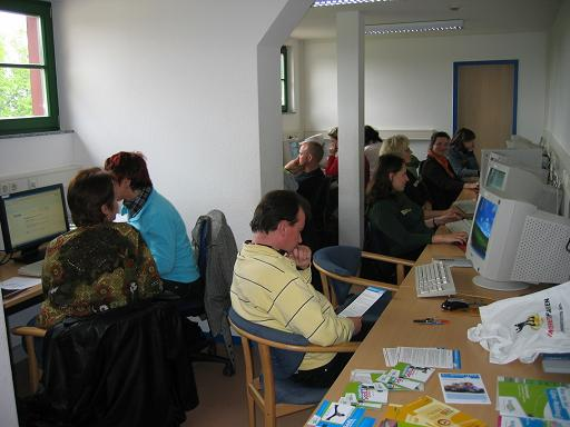 Training 'Inklusive Internet' in Eilenburg