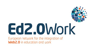 Ed 2.0 Work Logo - European network for the integration of Web 2.0 in education and work