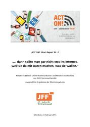 Ansicht: ACT ON! Short Report Nr. 2 -