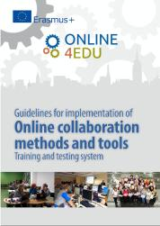 Cover: Guidelines for implementation of Online Collaboration and Tools Training and testing system