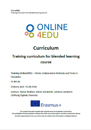 Cover: Online4EDU: Blended Learning Curriculum