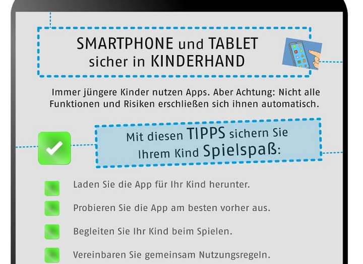 Handzettel Kinder-Apps