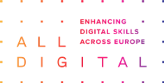 ALL DIGITAL Logo grandient