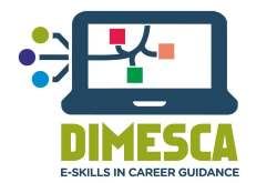 Logo: DIMESCA - eSkills @ career guidance