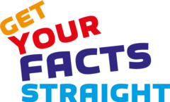 Wortlogo: Get Your Facts Straight!