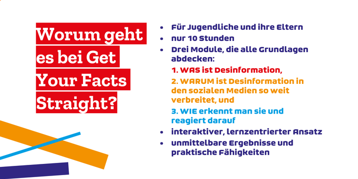 Get Your Facts Straight! Social Media Kampagne