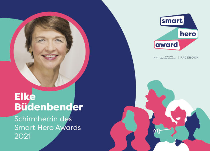Elke Büdenbender, Schirmherrin des Smart Hero Awards 2021
