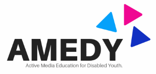 Logo AMEDY - Active Media Education for Disabled Youth